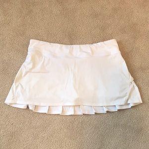 Lululemon Run: Pace Setter Skirt White